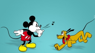 Mickey Mouse and Pluto - The Chain Gang