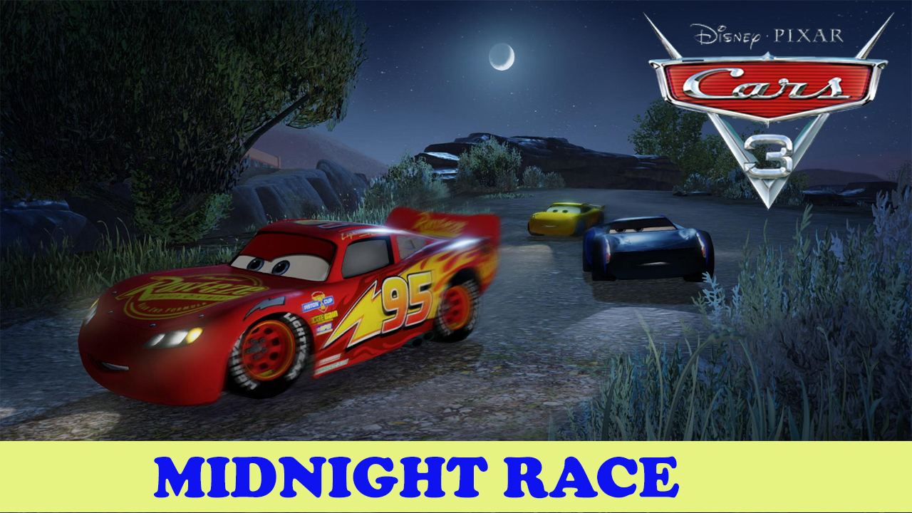 Cars 3 Driven to win – Midnight racing – Road to unlock all cars ...